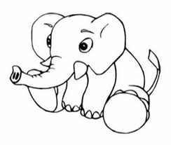 baby elephant coloring fun method coloring