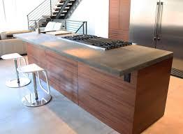 Concrete Kitchen Countertops Kitchen Amazing Concrete Countertops Poured Concrete Countertop