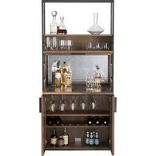 crate and barrel bar cabinet clive bar cabinet in 15 off bar carts and bar cabinets crate and