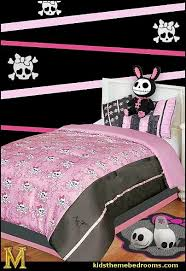 Monster High Bedroom Furniture by Decorating Theme Bedrooms Maries Manor Skull Bedding Skull