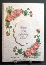 handmade birthday card ideas for friends paper quilling birthday