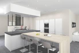 cuisine equipee design faberk maison design modele de cuisine blanche cuisine cuisine