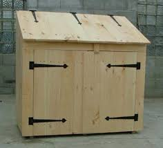 How To Make A Simple Storage Shed by Best 25 Garbage Can Shed Ideas On Pinterest Storage Area In