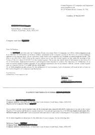 please be aware of this latest scam letter parker accountants