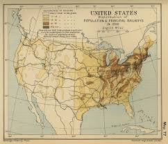 Map If Us Of The United States Population 1900