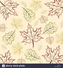 fall leaf thanksgiving card in vector format stock