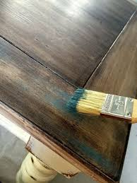 this dry brush technique will add age to new wood old wood