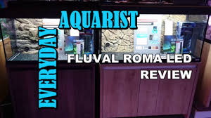 Fluval 125 Cabinet Fluval Roma Led Aquarium Review 90 125 200 240 Youtube