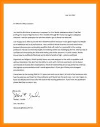 Cover Letter Example For Students Cover Letter Examples For Nursing Students Image Collections