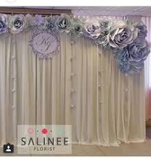 wedding backdrop chagne paper flower backdrop colours to change