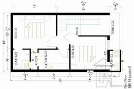 Houses Design Plans by 2 Marla House Design Plan Gharplans Pk