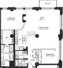 Bca Floor Plan Floorplans 360 W Illinois The Sexton