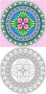 bring 15 magnificent free mandala templates