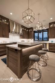 a modern rustic kitchen u2014 cameo homes