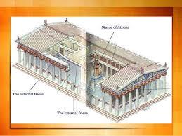 floor plan of the parthenon parthenon
