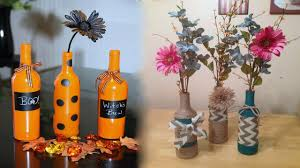 how to make a wine bottle l what can you make with glass bottles youtube