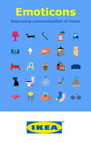 ikea emoji ikea helps solve household problems with emoticons app android