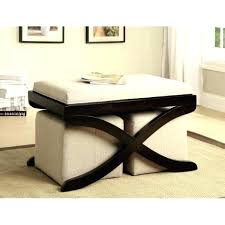 Tray Top Storage Ottoman Ottomans Upholstered Ottoman Coffee Table Flip Top Tufted Leg