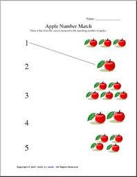 number recognition preschool primary worksheet abcteach