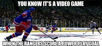 Meme Video - you know it s a video game funny hockey meme