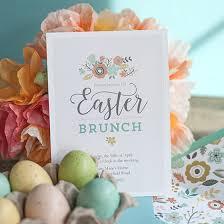 easter brunch invitations printable easter brunch invitation envelope liner lia griffith