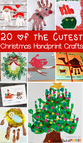 20 of the cutest christmas handprint crafts for kids the ideas