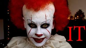 Pennywise Halloween Costume Pennywise Clown Makeup Halloween Stephen King 2017