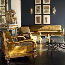 Gold Fabric Sofa Sofa Awesome Black And Gold Couch How To Decorate Around A Gold