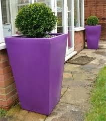 large garden troughs garden planter purple large garden