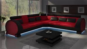 sofa mit led beleuchtung ecksofa vigo lt01 eckcouch sofa eckgarnitur ledersofa
