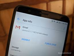 about apk gmail v8 1 prepares for conversation snooze and re snooze feature