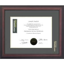 diploma frame centennial college briarwood mahogany diploma frame cent1316bm