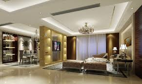 tv wall partition for sitting room and dining room 3d house