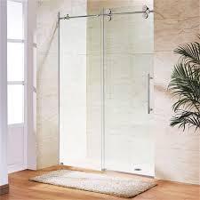 sliding glass frameless shower doors sliding glass frameless