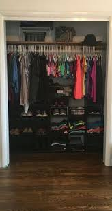 in closet storage storing and consolidating can be a bit tricky in a small college