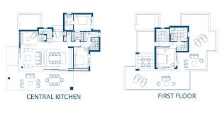 Olivo La Finca De Marbella Centralized Kitchen Floor Plans