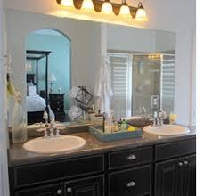 Mirror In A Bathroom Home Dzine Bathrooms Frame A Bathroom Mirror