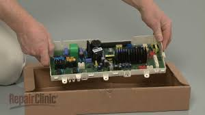 lg top load washer replace main control board ebr67466109 youtube
