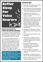 hearing voices network free downloads including coping strategies