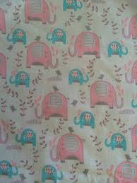 Change Table Mats Elephants Pink Choose Your Fabric From Pram Liners To Trolley