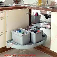 amenagement meuble de cuisine amenagement de placard de cuisine placard angle cuisine poubelle