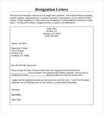 resigning letter board resignation letter in doc sample board