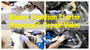 harley davidson starter replacement install u0026 starter clutch fix