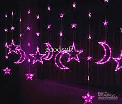 cheap 3 1 2 m pink curtain led light string lights