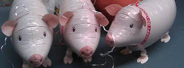 pig balloons light up foil walking or which balloons do you