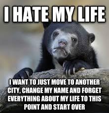My Life Is Over Meme - livememe com confession bear