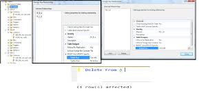 Delete All Rows From Table Sql How To Delete All Dependent Rows Stack Overflow
