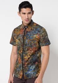 desain baju batik pria 2014 dunia batik nusantara