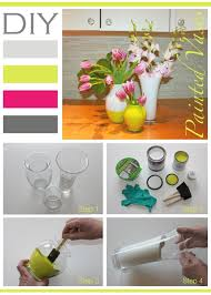 How To Paint Inside Glass Vases Best 25 Diy Painted Vases Ideas On Pinterest Painting Vases