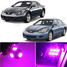 nissan altima 2013 led headlights 12 x premium pink led lights interior package kit for nissan